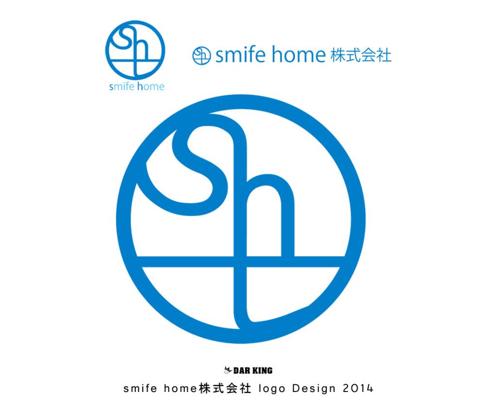 smife home株式会社 logo Design 2014